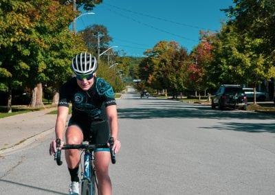 Cycling Georgian Bay